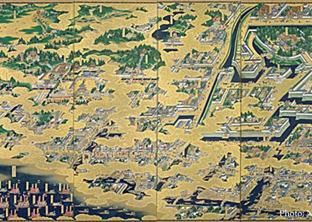 时代所讲述的江户文化――主角从武士变为商人