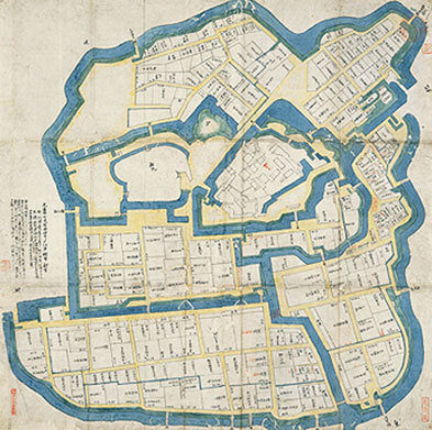 17世紀的大都市計劃──打造江戶的城鎮